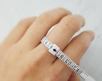 Find your Ring SIZE, Ring Size Finder, Adjustable Ring Sizer, Reusable Ring Size Finder, Super Sizer, Multisizer, Ring Size Gauge