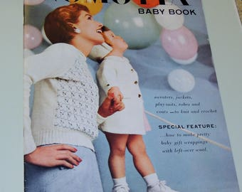 1954 Nomotta Baby Book, hand knits for Babies