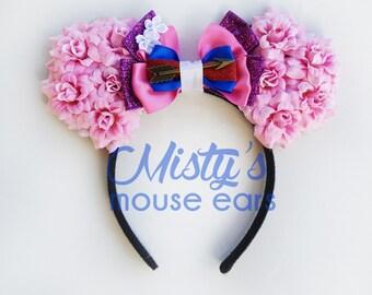Inspired Mulan Rose Mouse Ears
