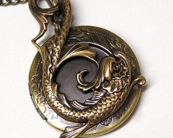 WATER DRAGON LOCKET