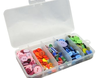2 New Sewing Organizers with 5 compartments. (Empty)