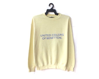 United Colors Of Benetton Spellout Embroidery Sweatshirt
