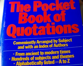 The Pocket Book of Quotations