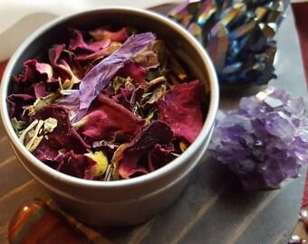 FLORAL RELAX Herbal Tea & Tisane ~ Naturopathy, Organic Herbal Tea, Relaxation, Floral Tea, Spring Tea