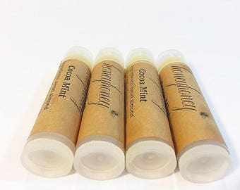 Honeyhoney lip balm, 4 Flavors