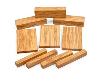 Image Is Loading 10 Bethlehem Olive Wood Highly Figured Knife Scales