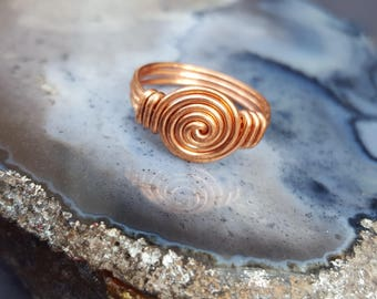 Rings for Women, Wire Ring, Copper Ring Women, Copper Rings for Arthritis, Arthritis Copper Jewelry, Handmade Rings, Handmade Wire Jewelry