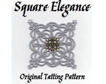 Square Elegance -  TATTING PATTERN