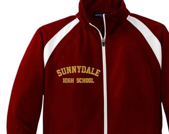 Sunnydale High School Embroidery Design File