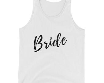 Womens Tank Top, bride logo