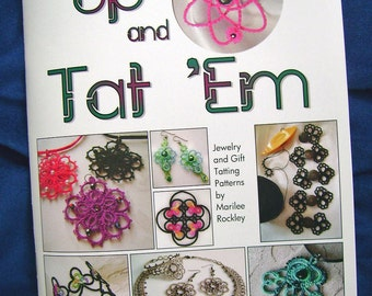 "Shuttle Tatting book ""Up and Tat 'Em"""
