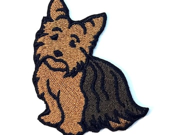 Yorkie Iron on Patch No Name