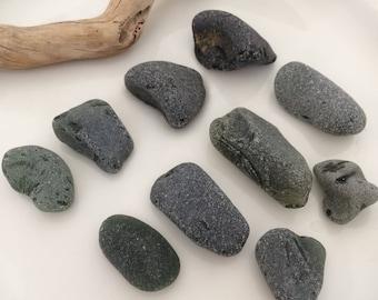 Olive Green Sea Glass, Jewelry Grade, Jewelry Supplies, Loose Gemstones, Bulk Sea Glass, Frosted Sea Glass, Sea Glass Mix, Pendant Sized