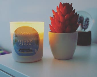 ISLAND DREAM/Handpoured Scented Soy Candle