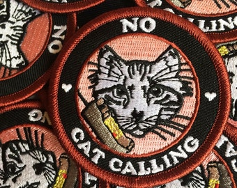 No Cat Calling Patch