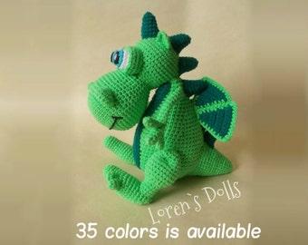 Amigurumi Dragon Wings : Baby dragon crochet pattern game of thrones crochet