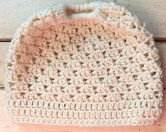 Ladies Beautiful Messy Bun Ponytail Hat
