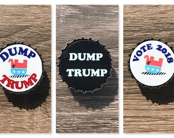 Anti-Trump Magnets (Set of 3)