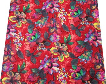 Indian Floral Printed Pure Cotton Fabric For Sewing Dressmaking Material Drape Apparel Craft Supplies Upholstery Fabric By 1 Yard  ZBC1566