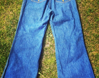 Vintage 1970's High Waisted Jeans