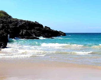 Hawaiian Beach Digital Picture