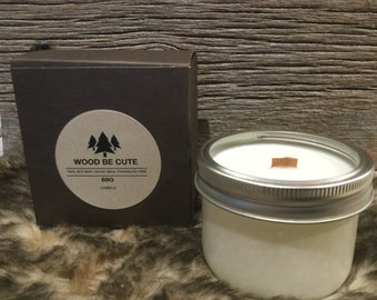 BBQ 100% soy wax candles