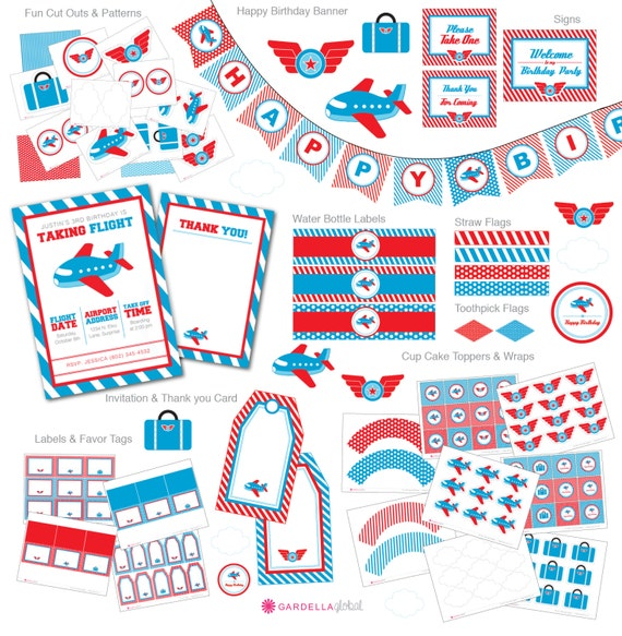Items Similar To Airplane Birthday Invitation: Items Similar To Airplane Birthday Party, Plane Invite