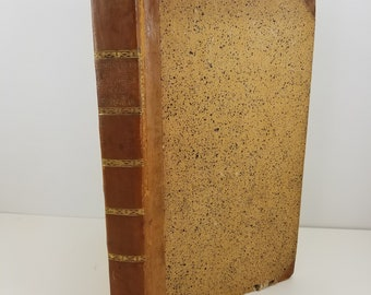 CLEMENTIS ALEXANDRINI Clement of Alexandria: Salvation of the Rich Man - Antique Book in Latin and Greek Published in 1816