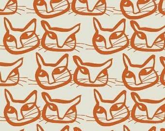 Lotta Jansdotter - Hemma - Windham Fabrics -(42113-3 Mandarin) - 1 Yard