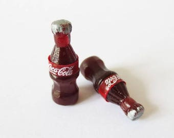 1 x bottle miniature plastic soda