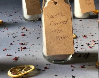 Vanilla Oatmeal Milk Bath