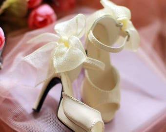 1/3bjd SD shoes ,Bowknot Sandal high heel shoes
