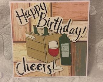 Cheers! Happy Birthday Card