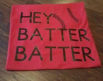 Hey Batter Batter Tee