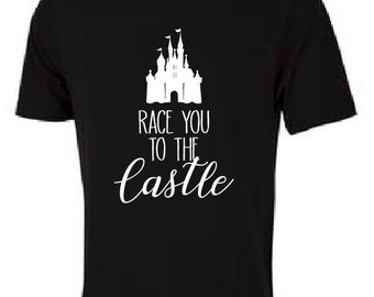 Race You to the Castle (White)