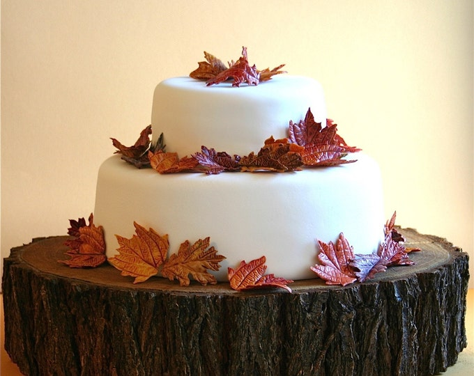 Rustic Tree Slab Cake Stand - Many Sizes