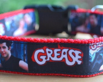 Grease dog collar & leash