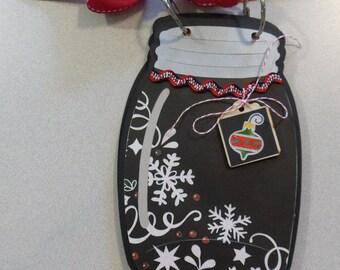 "8"" Mason Jar Christmas Mini Album CLEARANCE PRICED!!"