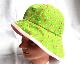 Sun hat Green/Chapeau de soleil