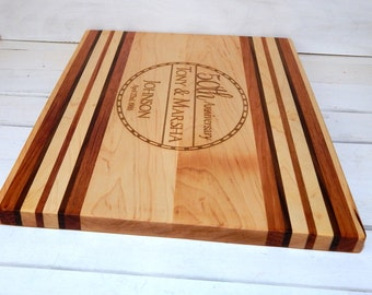 Large Cutting Board, Personalized Cutting Board, Personalized Gift, Christmas Gift, Wedding Gift, House Warming Gift, Custom Cutting Board