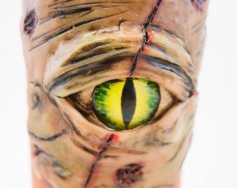 The Walking Dead, Walking Dead glass, Walking Dead, Gift, TV Show, Mug, Walking Dead Cup, Zombie Mug, Zombie Cup, Coffee Cup, Black Mug