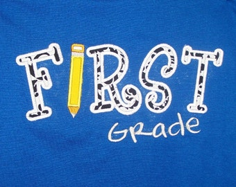 First Grade School Shirt First Grade Teacher Shirt Student Shirt
