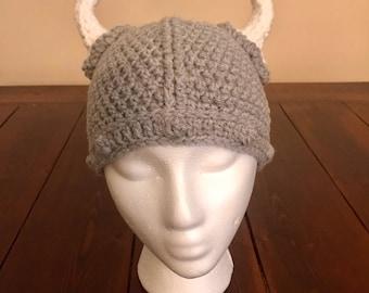 Infant, Toddler, Youth, Adult, Cat Viking Hat