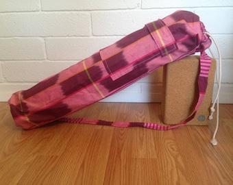 Yoga Mat Bag with Pocket