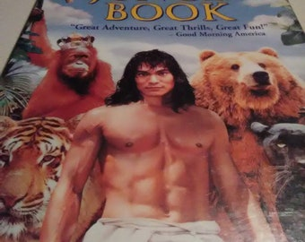 Vintage 1995 Disney's The Jungle Book by Rudyard Kipling. VHS movie. This is one of the most exciting movies I've ever watched.