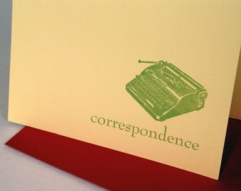 SALE correspondence cards