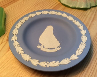 Vintage Wedgwood Jasperware Barbados Pin Dish
