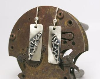 Sterling Silver Earrings - Modern