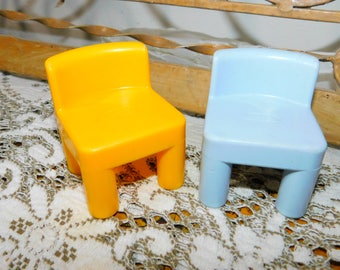 Little Tikes House Doll Chairs, Doll Chairs, Doll house Chairs, Vintage Toys, Toys, :)s*