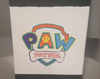 Paw Patrol Canvas Art